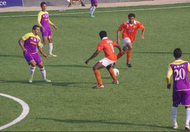 Sporting Clube de Goa 1-2 Prayag United SC: Eelco Schattorie's men win three on a trot