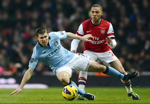 El Manchester City derrota al Arsenal y sigue como escolta del United