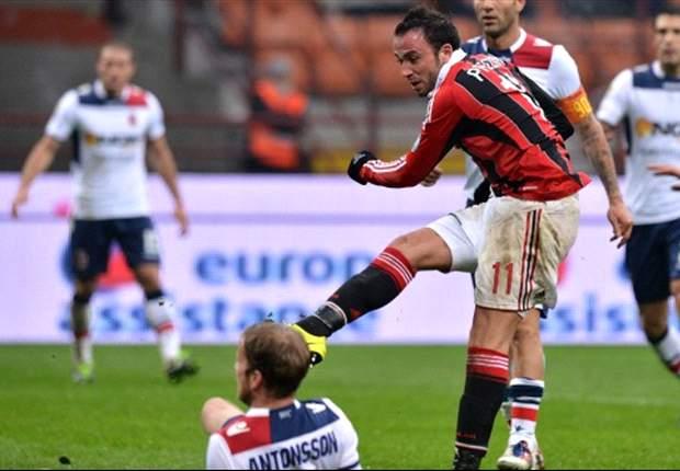 Pazzini le da el triunfo al Milan en San Siro