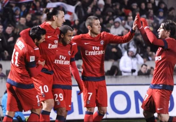 Bordeaux-PSG 0-1: Perla numero 19 di Ibrahimovic, parigini in testa con il Lione