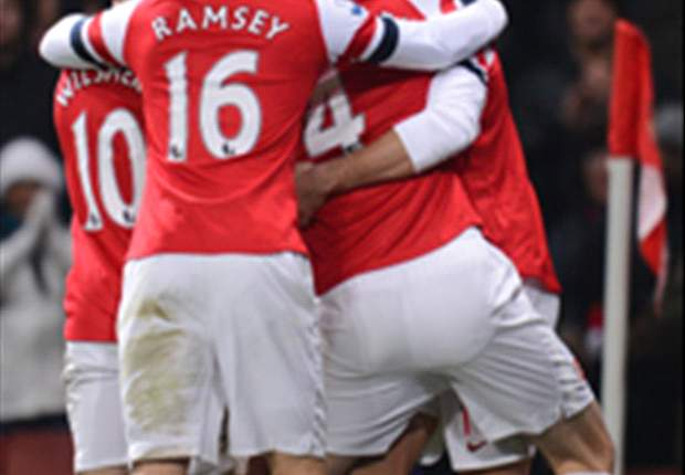 ANG - Arsenal atomise West Ham