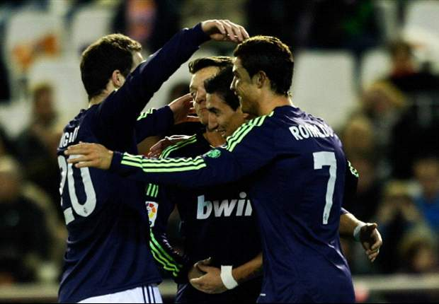Valencia 1-1 Real Madrid (Agg 1-3): Blancos finish with nine men but ensure progression to last four