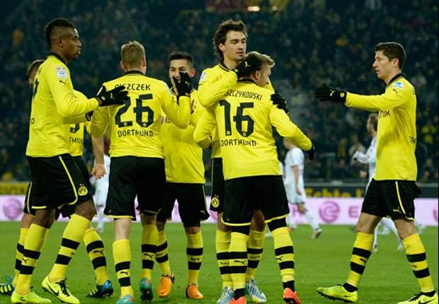Borussia Dortmund-Norimberga 3-0: Gialloneri alla polacca, decidono Blaszczykowski e Lewandowsky