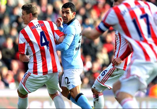 Stoke City 0-1 Manchester City: Zabaleta rescata a los 'Citizens'