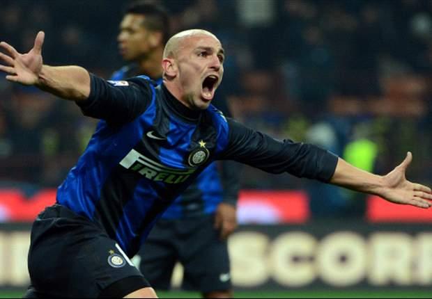 Inter 2-2 Torino: Cambiasso rescues point but Nerazzurri fail to close gap on Juventus