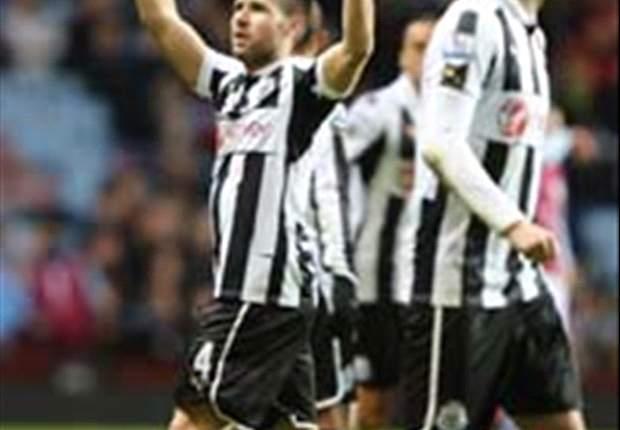 Aston Villa 1-2 Newcastle: Cisse & Cabaye pile pressure on Lambert