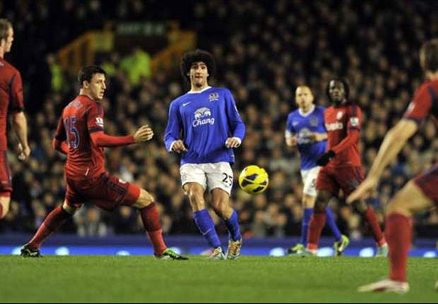 Everton 2-1 West Brom: Brillaint Baines doubles up for Toffees
