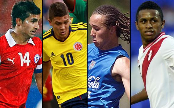 El equipo ideal del Torneo Sudamericano Sub 20