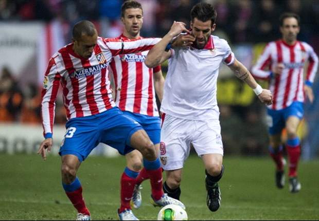 Atletico Madrid 2-1 Sevilla: Two Diego Costa penalties give hosts edge