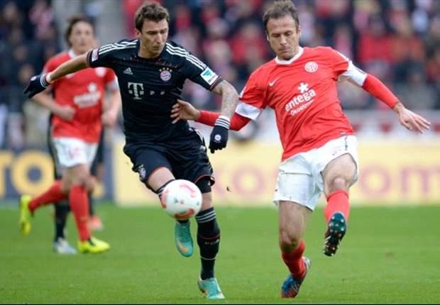 Mainz-Bayern Monaco 0-3: Tutto facile per i bavaresi di 'Re Mandzukic', +14 in attesa di Leverkusen-Dortmund