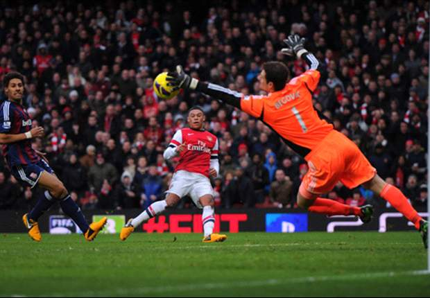 Arsenal 1-0 Stoke: Podolski puts Gunners back in the Champions League picture