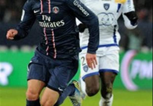 Paris Saint-Germain 3-1 SC Bastia: Ancelotti's side go six points clear after goals from Menez, Ibrahimovic and Lavezzi