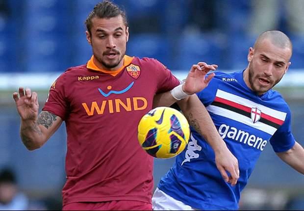 Serie A Round 24 Results: Sampdoria ruin Andreazzoli's Roma debut