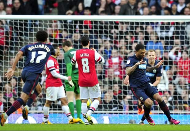 Arsenal 0-1 Blackburn: Kazim-Richards stuns Wenger's sorry Gunners