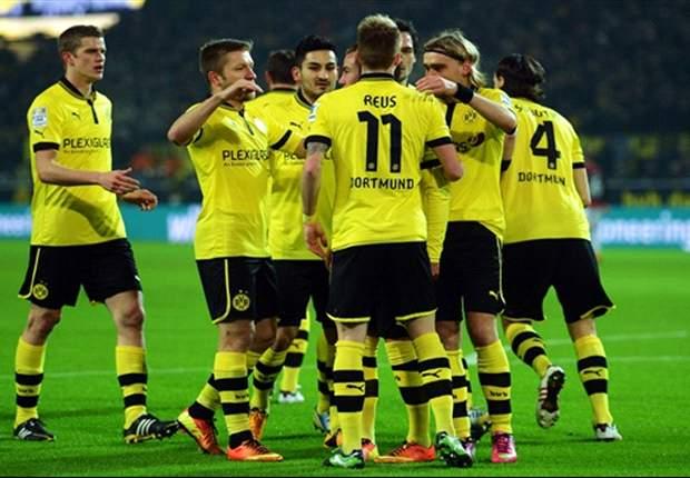 Borussia Dortmund 3-0 Eintracht Frankfurt: Reus hits hat-trick as champions return to winning ways