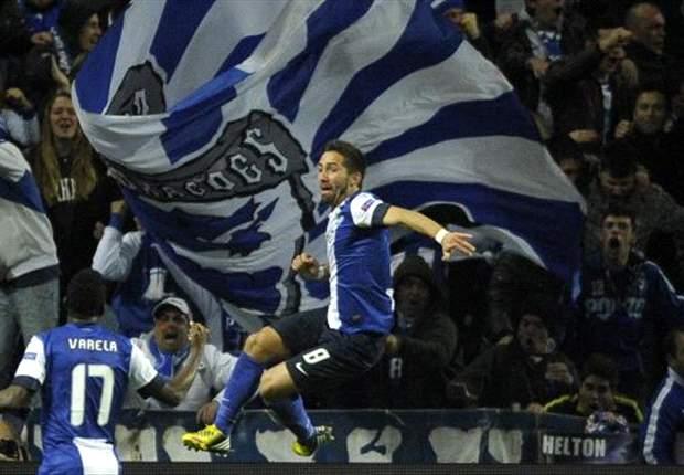 Porto 1-0 Malaga: Moutinho the difference for Portuguese giants