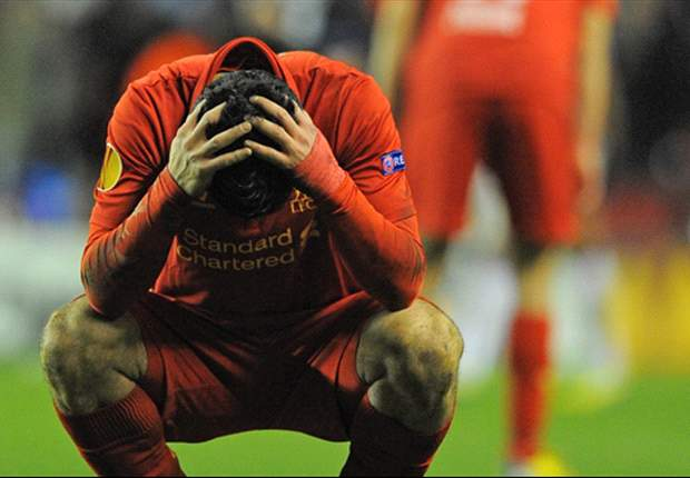 Liverpool 3-1 Zenit St Petersburg (Agg: 3-3): Inspired Suarez bags double but Reds crash out of Europe