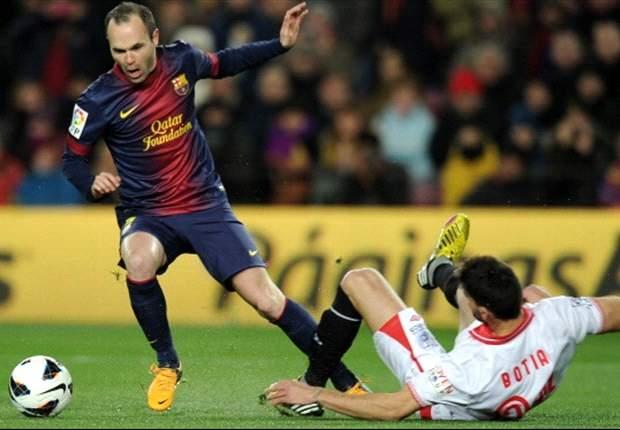 Barcelona 2-1 Sevilla: Brittle Blaugrana bounce back against wasteful Rojiblancos