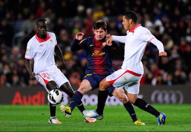 Barcellona-Siviglia 2-1: Villa-Messi per la remuntada blaugrana, incubo scacciato al Camp Nou