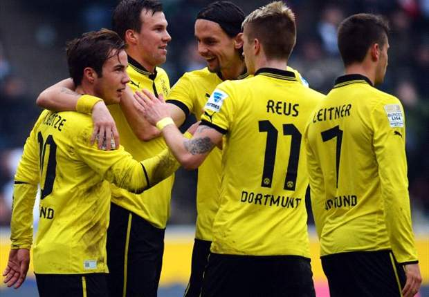 Borussia Monchengladbach 1-1 Borussia Dortmund: Wasteful visitors denied points by Younes