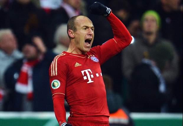 Bayern Munich 1-0 Borussia Dortmund: Robben cracker brings treble dream into focus
