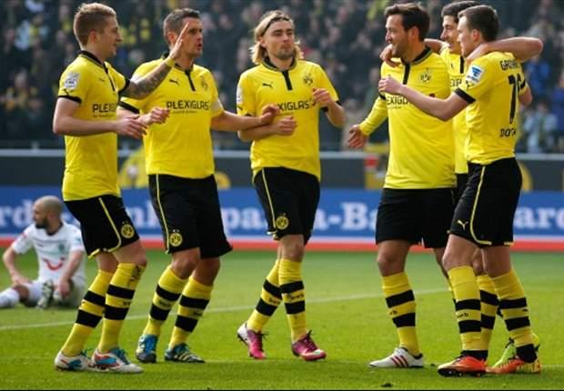 Borussia Dortmund 3-1 Hannover: Lewandowski nets double on return from suspension