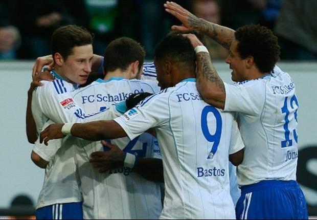 Bundesliga Round 24 Results: Draxler on target as Schalke steamroll Wolfsburg