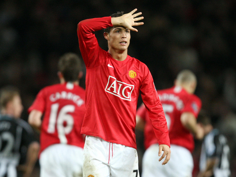 Ronaldo struck just one hat-trick during his time at Manchester United and  it came in front of the Old Trafford crowd in a crushing 6-0 victory over  ... 0410f52ee16