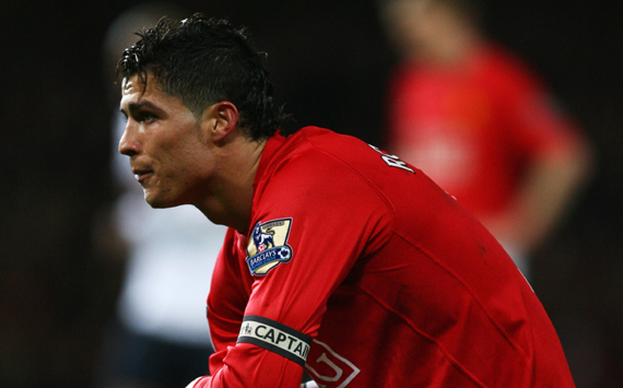 edb6d8b0e39 Cristiano Ronaldo donned the Manchester United captain s armband for the  first time in March 2008 and led by example as his double fired Sir Alex  Ferguson s ...