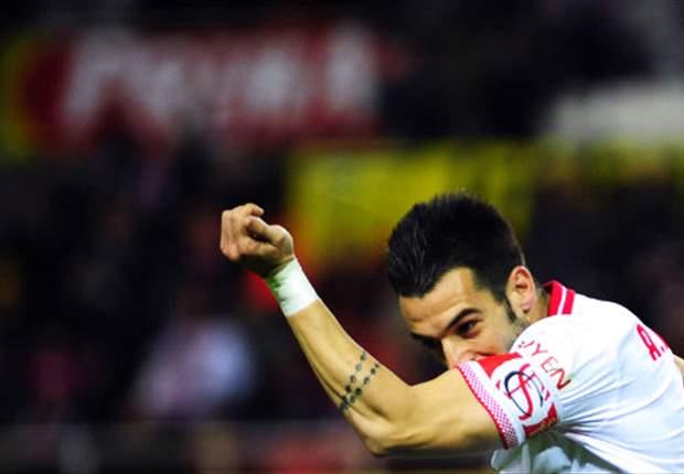 Sevilla 2-1 Athletic Bilbao: Negredo settles thrilling clash as both sides finish with 10 men