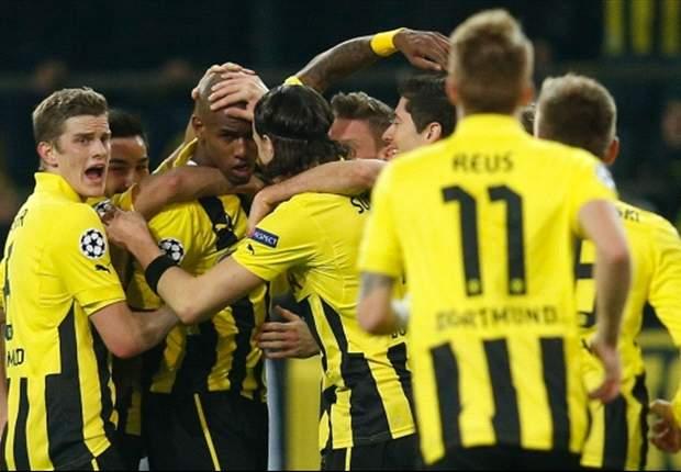 Ohne Probleme - Borussia Dortmund gewinnt deutlich gegen Schachtjor Donezk und bucht das Viertelfinal-Ticket!