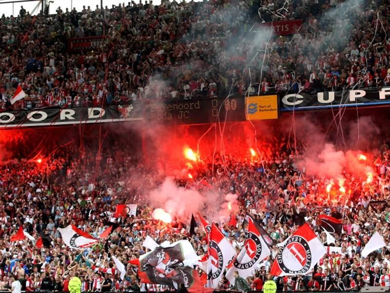 Feyenoord Supporters Aim Anti Semitic Chants At Ajax Players Goal Com
