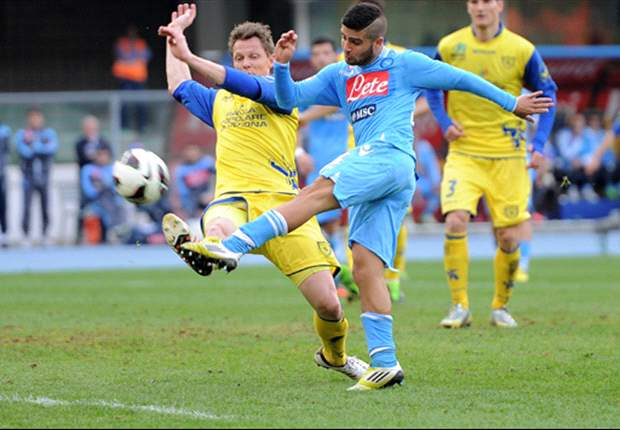 Serie A Round 28 Results: Chievo dent Napoli title hopes, Fiorentina claim Lazio scalp