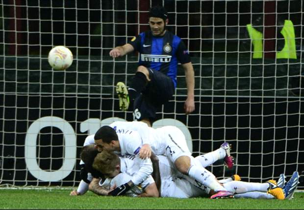 Inter 4-1 Tottenham (agg 4-4, aet): Spurs scrape through on away goals rule despite San Siro calamity