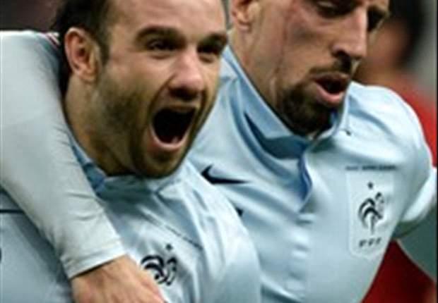 France 3-1 Georgia: Valbuena the star as les Bleus edge clear