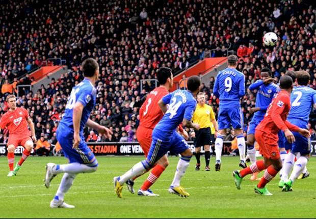 Southampton 2-1 Chelsea: Lambert steers Saints towards safety