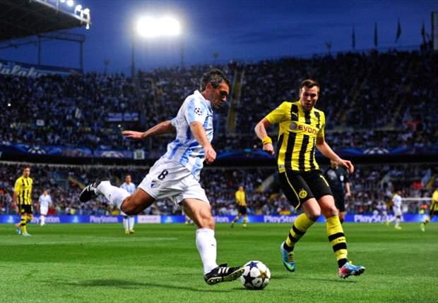 Borussia Dortmund empfängt den FC Malaga: Die Spanier wollen als Champions-League-Debütant ins Halbfinale einziehen