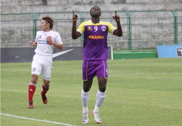 Prayag United 3-1 ONGC: A Ranti Martins brace helps secure home win for Prayag