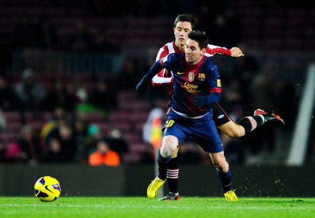 Athletic Bilbao 2-2 Barcelona: Messi magic in vain as Herrera makes Blaugrana wait