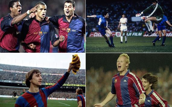 5 remontadas históricas del Barcelona