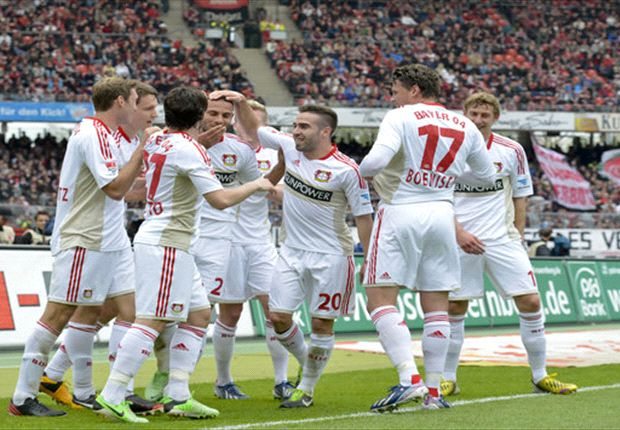 Bundesliga Round 32 Results: Leverkusen breeze past Nurnberg to secure Champions League berth