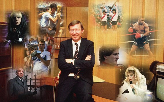 Cuando Ferguson llegó al Man Utd...