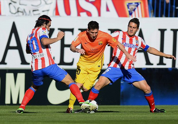 Atletico Madrid 1-2 Barcelona: Newly-crowned champions set sights on record points haul