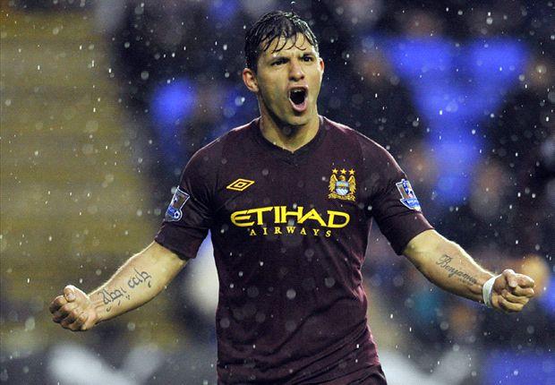 Reading 0-2 Manchester City: Aguero & Dzeko get life without Mancini off to winning start