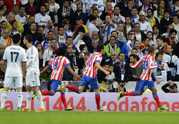 Real Madrid-Atletico Madrid 1-2: Supplementari biancorossi, Miranda completa la rimonta