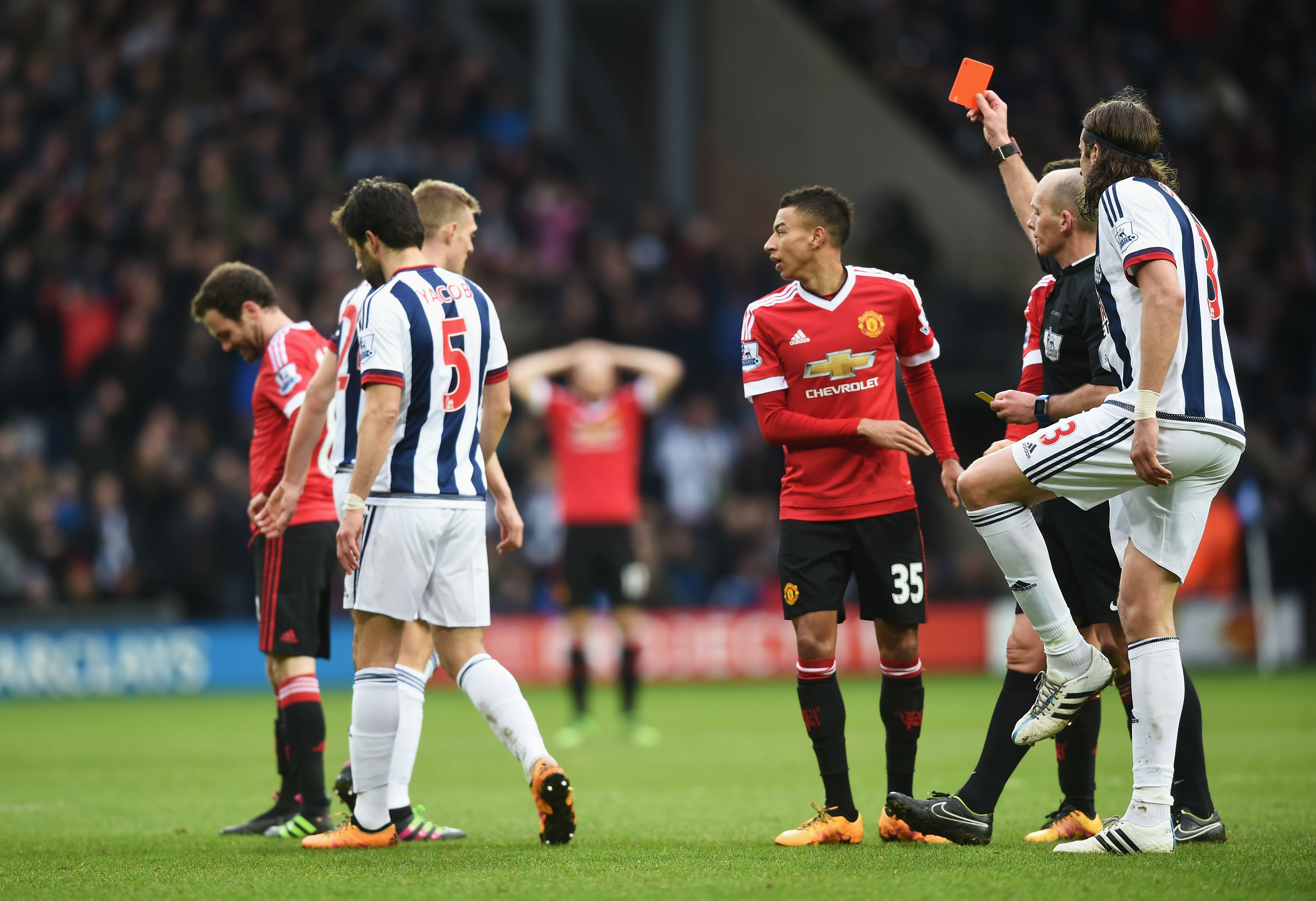 Mata speaks out after first career red card in Manchester United's defeat