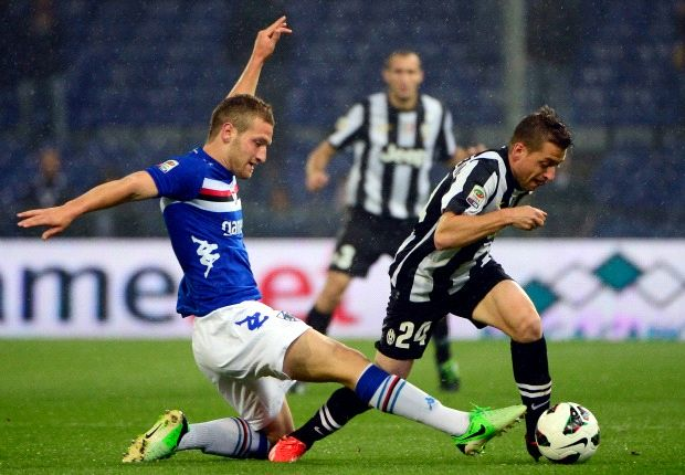 Sampdoria 3-2 Juventus: Blucerchiati complete league double over champions