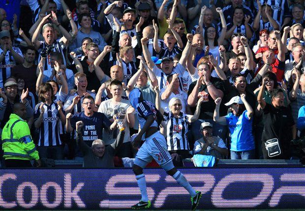 West Brom 5-5 Manchester United: Lukaku hat-trick spoils Sir Alex Ferguson's send-off