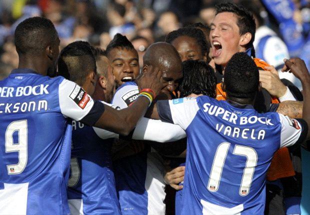 Unbeaten Porto claim Portuguese title