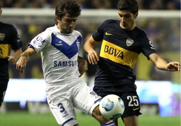 Boca recibe a Vélez, este domingo a las 16:15.